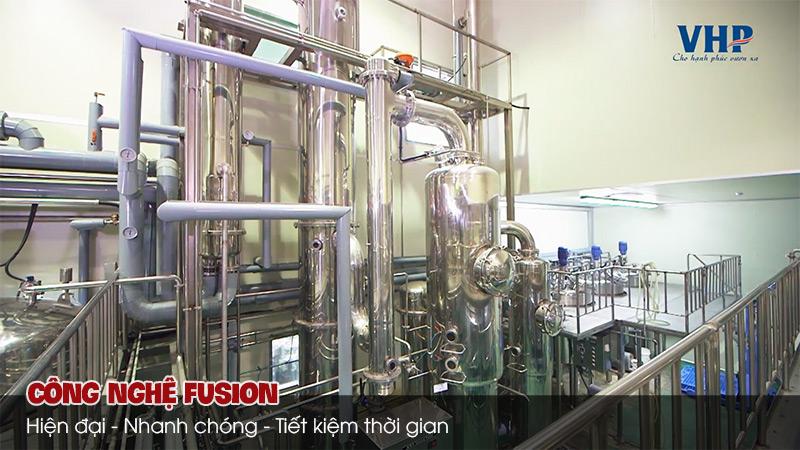 công nghệ fusion hiện đại của Daedong
