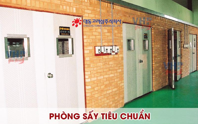 phòng sấy Elven theo tiêu chuẩn Hàn Quốc