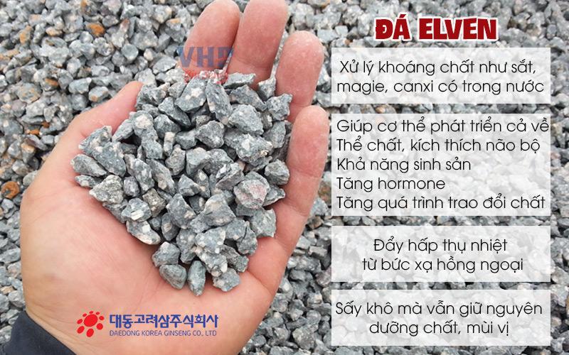 công dụng đá elven